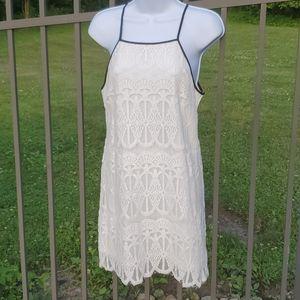 Bleuh Ciel White Lace Dress